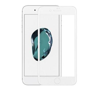 iPhone8 カーボンファイバー素材 ガラス フルカバー 0.3mm 3D