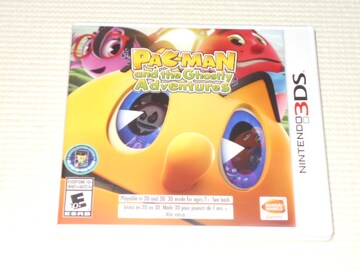 3DS★PAC-MAN and the Ghostly Adventures 海外版
