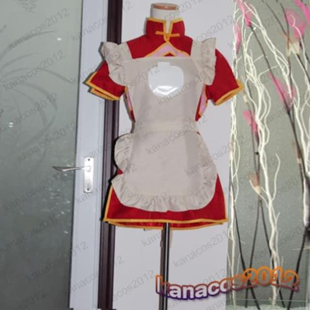 マクロスF ランカ・リー 超時空飯店バイト服 コスプレ衣装  < 女性ファッションの
