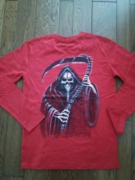 手描き イラスト Tシャツ 「死神」
