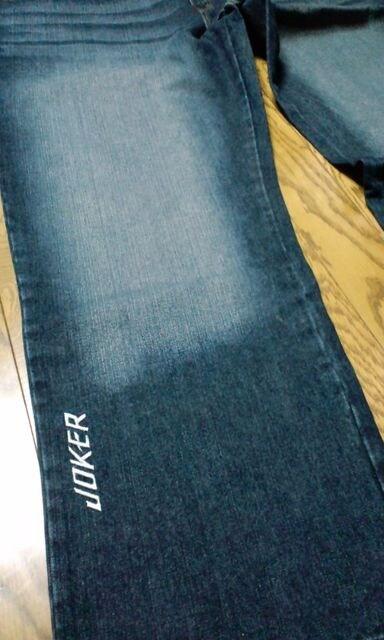 JOKERジョーカーデザインシルバー刺繍W50 W4852位 < 男性ファッションの