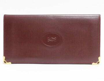 Cartier カルティエ 札入れ 二つ折り長財布 良品 正規品