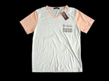 新品 hanjiro ハンジロー TCRポケット Tシャツ オートミール