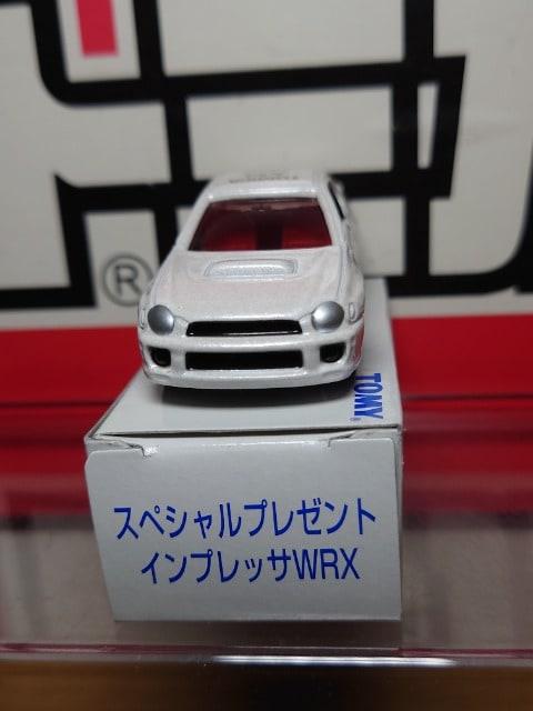 ★非売品トミカ(スペシャルプレゼント)★スバル インプレッサWRX★ < ホビーの