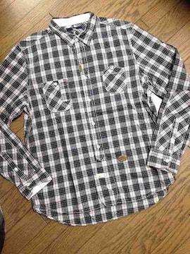美品SIMPLICITE PLUS デザインチェックシャツ ジャーナル