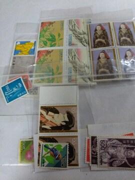 [未使用]いろんな切手9種類(11,770円分) 送料込