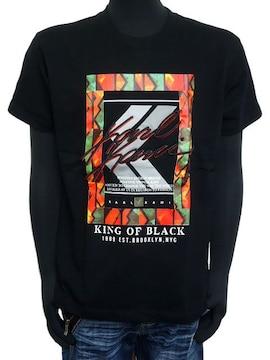 新品192K1002カールカナイ アフリカンフレームTシャツ黒L