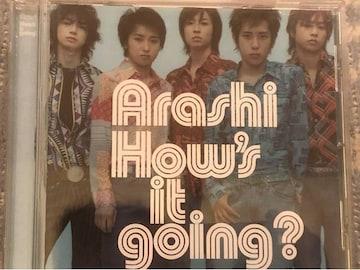 激安!激レア!☆嵐/How's it going☆初回限定盤☆美品☆