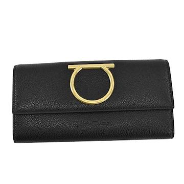 ◆新品本物◆サルヴァトーレフェラガモ 長財布(BK)『22D706』◆