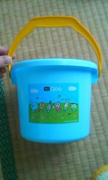 コカコーラQoo 可愛いクーデザイン形の子供用バケツ