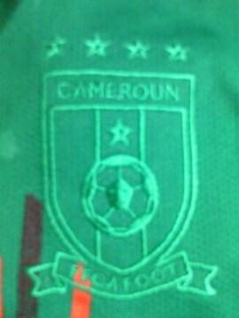 PUMA プーマ サッカー カメルーン 代表 デザイン ノースリーブ シャツ グリーン Sサイズ
