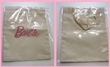 新品 非売品ノベルティバービーエコバッグ Barbie