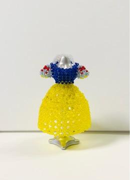 ビーズ☆ハンドメイド☆小さなドレス☆