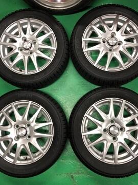 0082858国産TOYOスタッドレスタイヤアルミホイ-ルセット軽自動車155/65R14送料無料