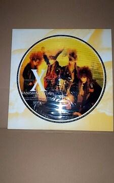 X JAPAN ピクチャーレコード VANISHING VISION LP 中古