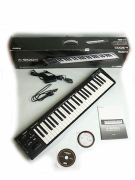 Roland A-500S MIDI USBキーボード・コントローラー ◆美品