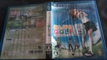 PS vitaソフト/みんなのGOLF6