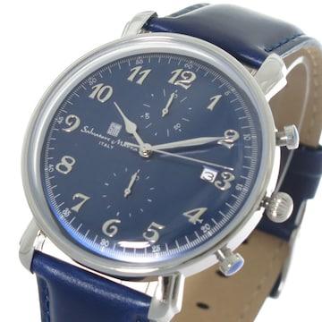 サルバトーレマーラ クロノ クオーツメンズ腕時計SM18109-SS