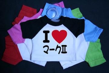 I LOVE ミニTシャツ マーク�U 各色有り