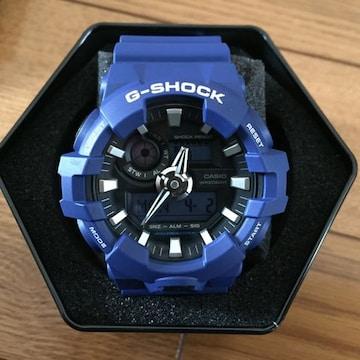 新品タグ付き G-SHOCK カシオ ブルー 20気圧防水