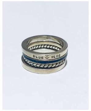 定価9,504円BLUE BLUEカルテットリング4連リングハリウッドランチマ-ケットHRM