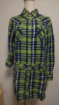 EDWIN503のシャツワンピ【15】