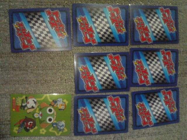 トレカ  ドラゴンオールスターズ ケロロ軍曹 + 少年エース特製カード 未使用 < アニメ/コミック/キャラクターの
