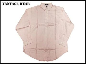 新 【ピンク色-S】 Vantage 長袖シャツ アメリカ輸入品