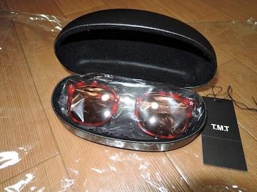 新品TMTサングラス茶メガネ眼鏡定価半額以下