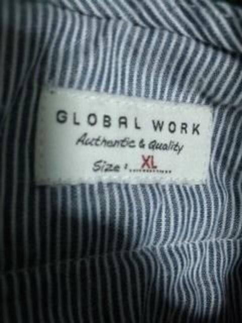 グローバルワーク グリーンパンツ < 男性ファッションの