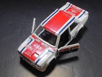 希少1979年製黒箱トミカフィアット131アバルトラリー