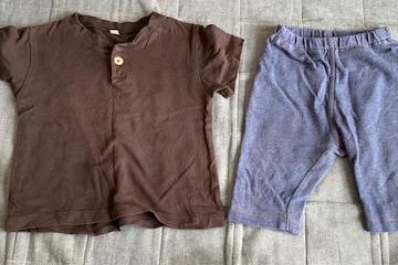 80センチ半袖Tシャツ.レギンスセット