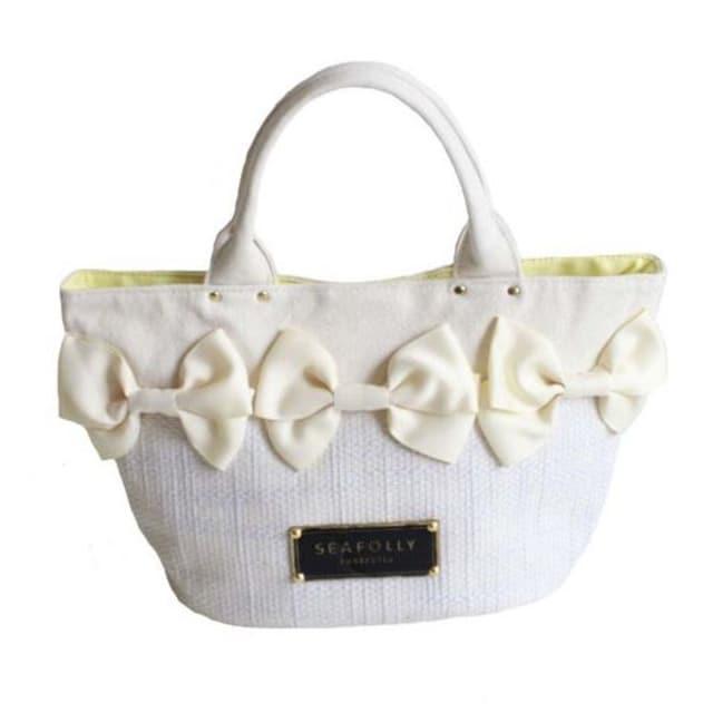 TB6即決 新品 レッスン バッグ 白 サマンサ マイケルコース ピンキー 好きに  < 女性ファッションの