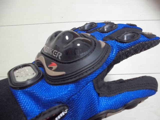 XXL バイク グローブ バイクグローブ MCS-01 青 ブルー < 自動車/バイク