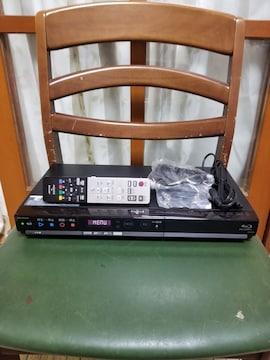 新品同様完動品!W録3D外付HDD可!スマホ対応!シャープBD-HW51