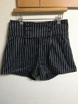 ★INGNI ストライプ×ショートパンツ  M★