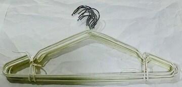 ズレ落ちにくいハンガー白10本2定形外郵便500円配送可能