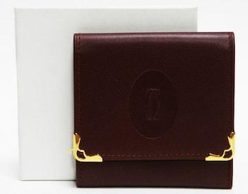 美品Cartierカルティエ コインケース マストライン良品 正規品