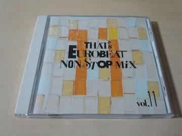 CD「ザッツ・ユーロビート・ノンストップ・ミックス VOL.11 廃盤