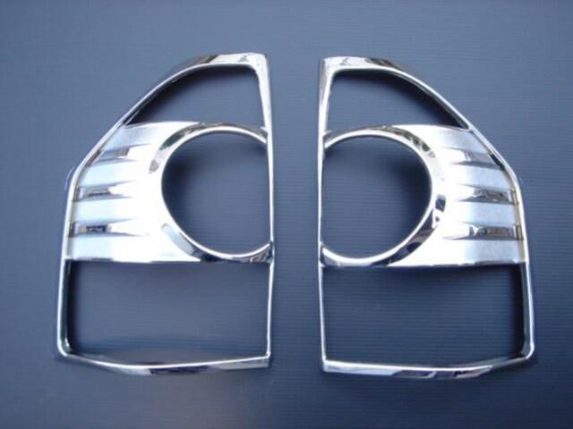 クロームメッキテールライトリング パジェロ V6#系V7#系 < 自動車/バイク