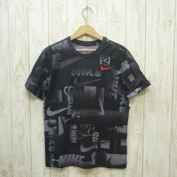 即決☆ナイキ特価ロゴ半袖Tシャツ BLK/XLサイズ 新品 ドライ