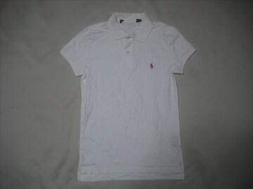 wr377 女 RALPH LAUREN ラルフローレン 半袖ポロシャツ Sサイズ