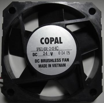 DCファンCOPAL/60角15mm5枚羽DC24V用5個未使用品