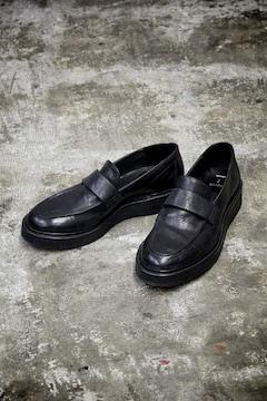 定価51840円 JULIUS レザー ローファー シューズ ブーツ