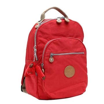 ★キプリング CLAS SEOUL S バックパック(RED)『KI2641』★新品本物★