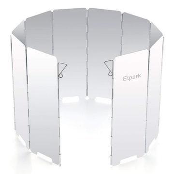 風除板 ウインドスクリーン 折り畳み式 防風板