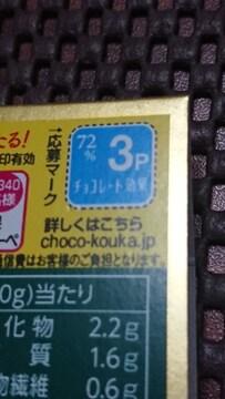 2/26チョコ習慣キャンペーン応募券3ポイント