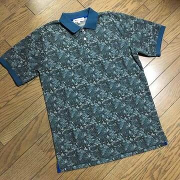 美品TAKEO KIKUCHI デザインポロシャツ タケオキクチ