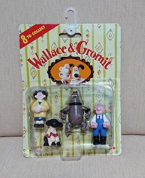 Wallace&Gromitミニフィギュア