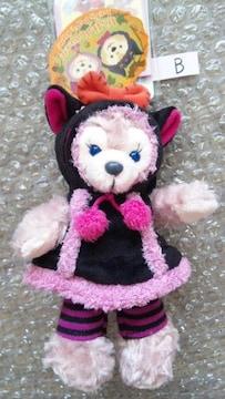ディズニーシー TDS ハロウィン 30周年 シェリーメイ ぬいぐるみバッジ 黒猫